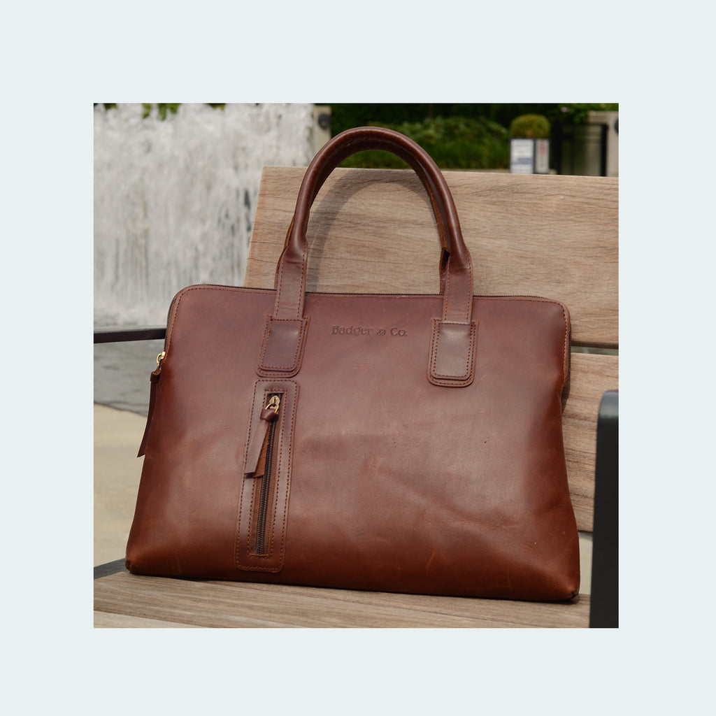 Leather Professtional Carryall - Lifestyle