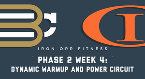 Phase 2 - Week 4: Dynamic Warmup and Power Circuit