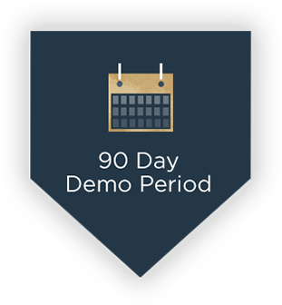 90 day demo period to find the perfect bat