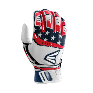 Easton Walk-Off Stars and Stripes Batting Gloves Men's