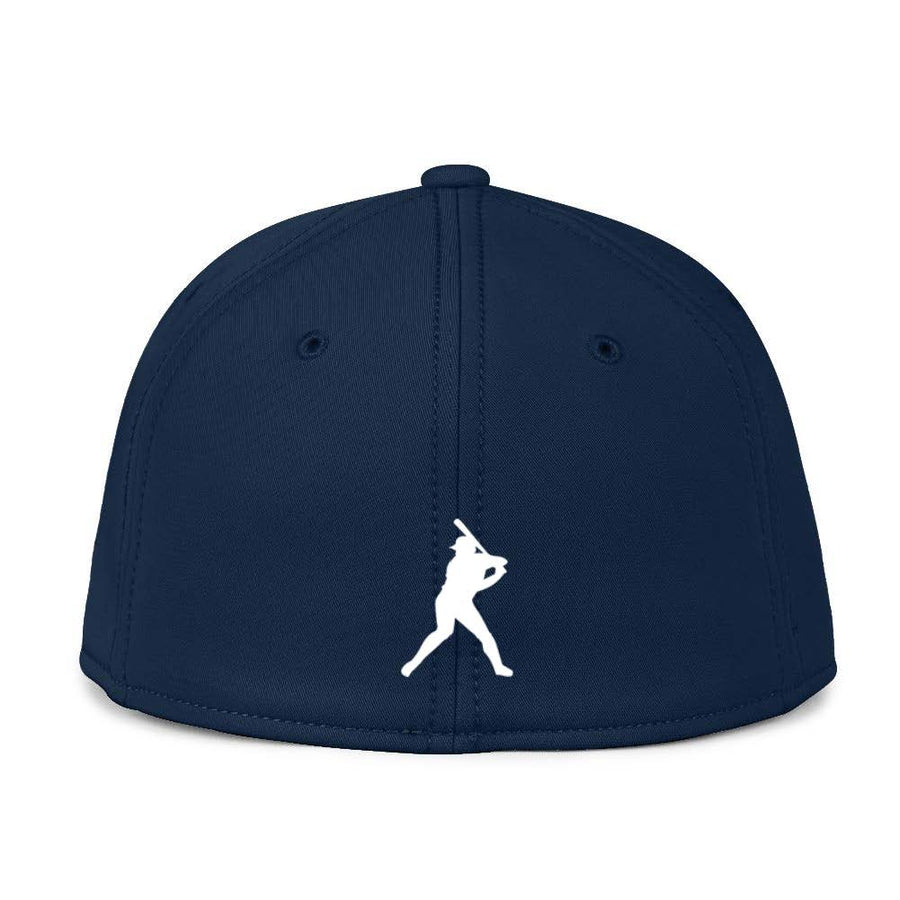 Classic Navy Blue Fitted BC Hat