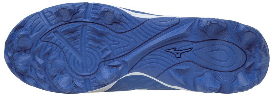 Mizuno 9-SPIKE ADVANCED YOUTH FRANCHISE 9 LOW MOLDED BASEBALL CLEAT (Royal Blue)