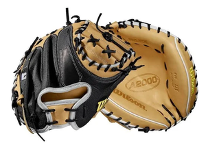 "2019 A2000 M1 SUPERSKIN 33.5"" CATCHER'S BASEBALL MITT - RIGHT HAND THROW 