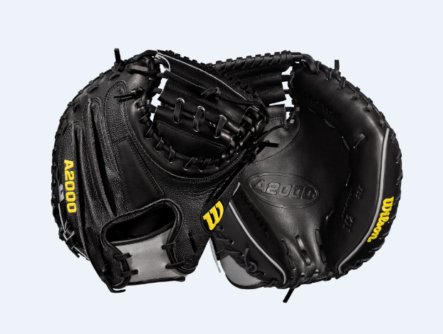 "A2000 M2 SUPERSKIN 33.5"" CATCHER'S BASEBALL MITT - RIGHT HAND THROW"