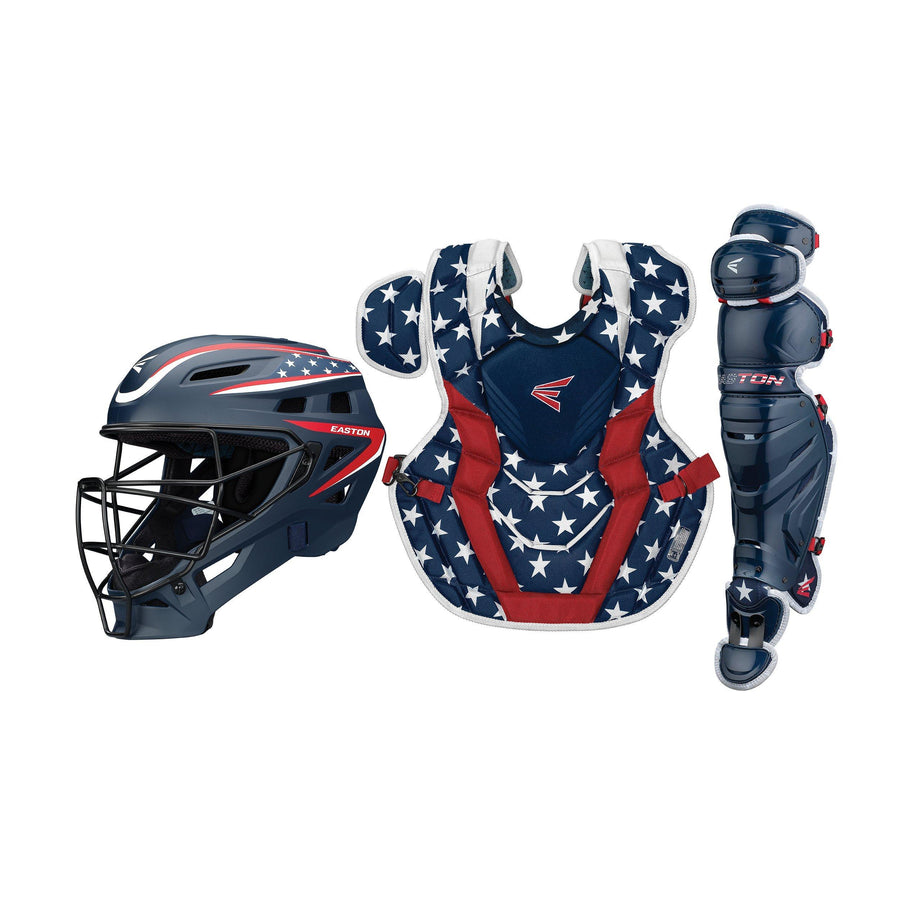 Easton Elite X Catcher's Set Stars and Stripes