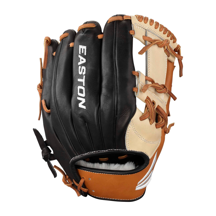 Easton Small Batch Glove RED FOX BATCH NO. 52-1 INFIELD 11.75""
