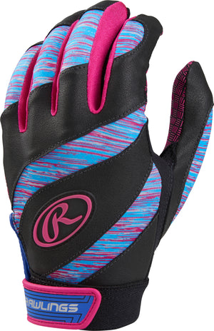 RAWLINGS ECLIPSE GIRL'S SOFTBALL BATTING GLOVES