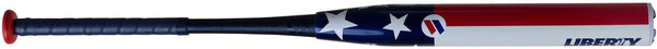 "Worth Worth Liberty 13.5"" Balanced USSSA 2-Piece Bat - Bat Club USA"