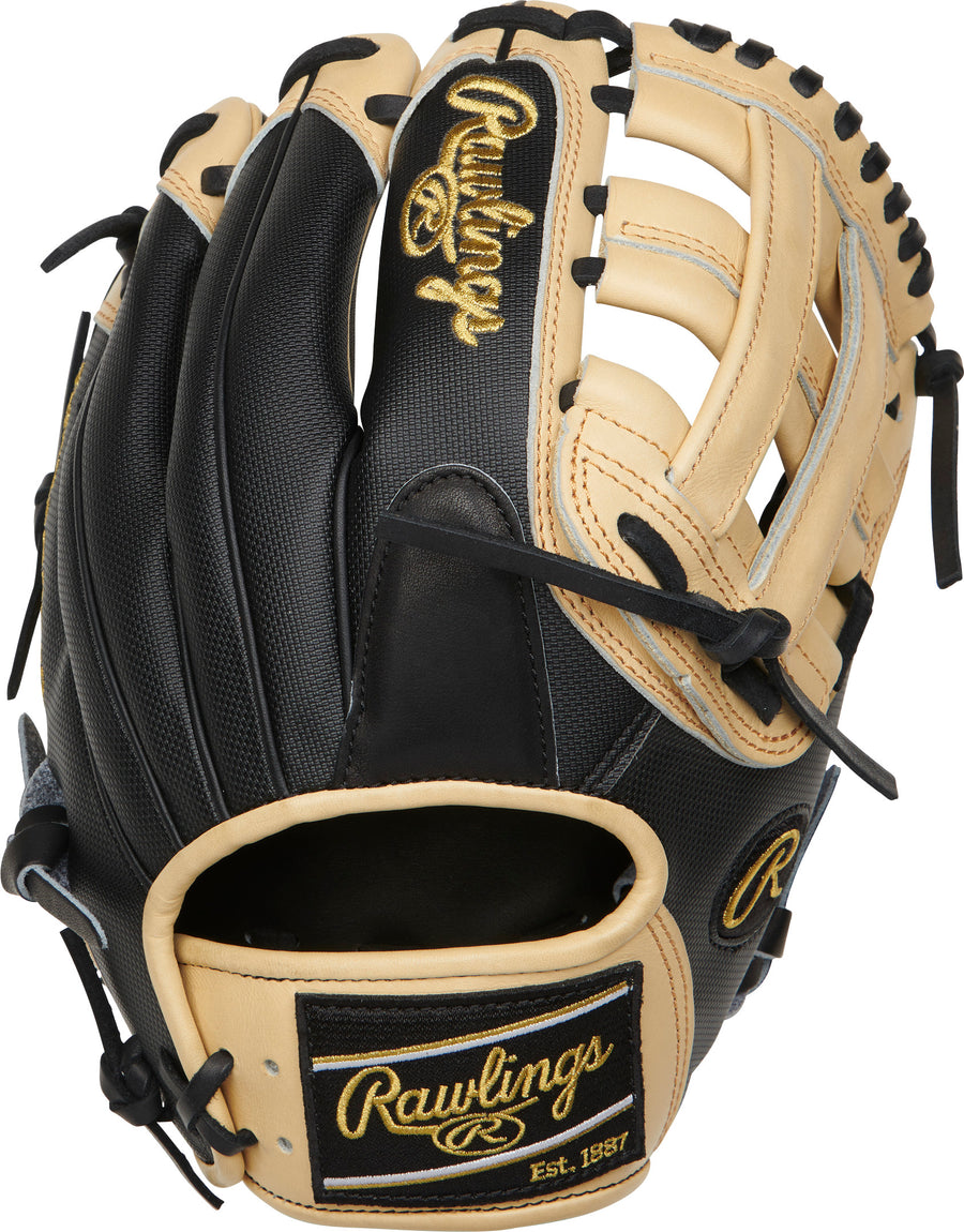 "Rawlings Heart of the Hide 11.75"" H-Web Infield Glove"