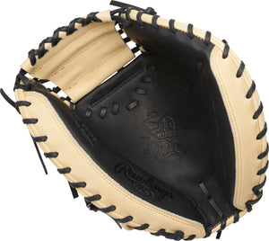 "2021 Rawlings 34"" YADIER MOLINA HEART OF THE HIDE SPEED SHELL CATCHER'S MITT PROYM4BC"