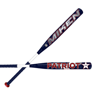 "2020 Miken Throwback Series ASA Freak Patriot 14"" Maxload Slowpitch Softball Bat"