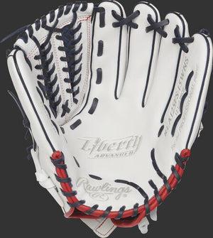 Rawlings LIBERTY ADVANCED 12.5 IN FASTPITCH FINGER SHIFT OUTFIELD GLOVE