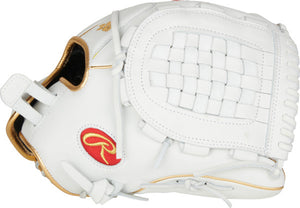 2021 Rawlings LIBERTY ADVANCED 12.5 IN FASTPITCH INFIELD GLOVE RLA125KRG