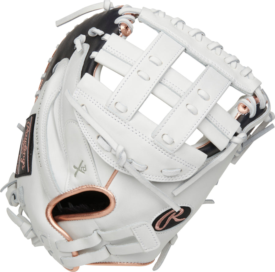 2021 Rawlings LIBERTY ADVANCED 33-INCH FASTPITCH CATCHER'S MITT RLACM33RG-3/0