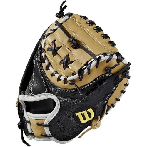 "2019 A2000 M1 SUPERSKIN 33.5"" CATCHER'S BASEBALL MITT - RIGHT HAND THROW"
