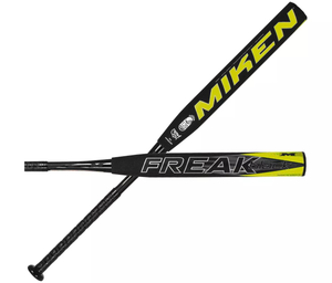 "2020 Miken Throwback Series USSSA Freak Black 14"" Maxload Slowpitch Softball Bat"