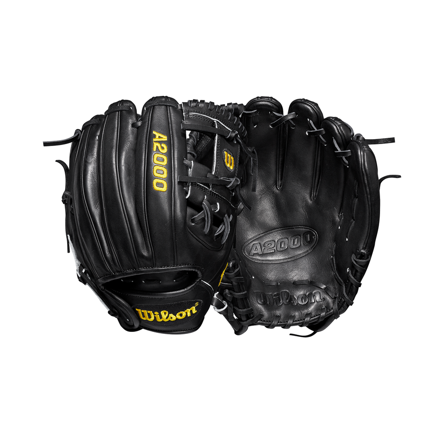 "2019 A2000 DP15 11.5"" Infield Baseball Glove Black"
