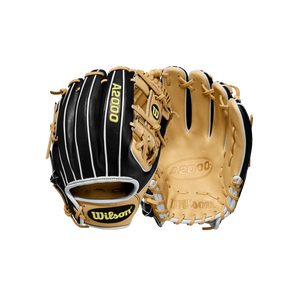 "2020 Wilson A2000 1786 11.5"" Baseball Glove - Black and Blonde"