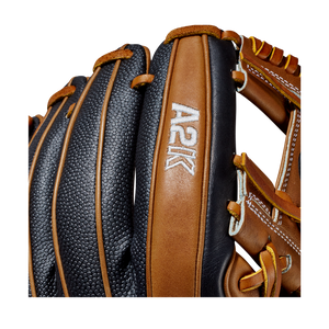 "2020 Wilson A2K 1786SS 11.5"" Infield Baseball Glove Black/Brown"