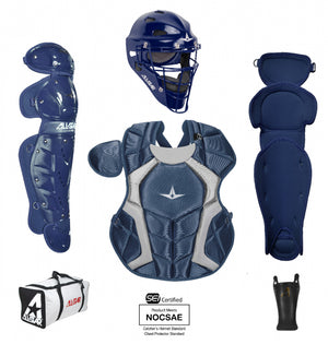 "ALL-STAR PLAYERS SERIES™ Catcher's Gear Kit - Kids AGES 7-9, 13.5"" MEETS NOCSAE"