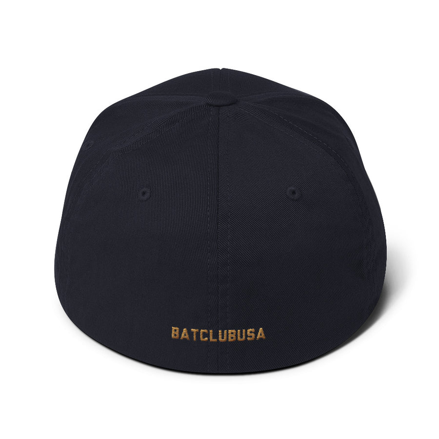 Bat Club USA Fitted Twill Cap | Bat Club USA | Bat Club USA