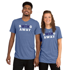 Bat Club USA - Swing Away Tee - DkBlu