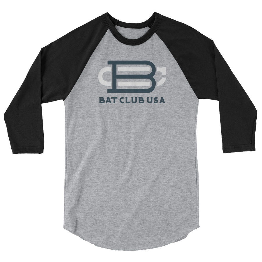 Bat Club USA - 3/4 sleeve BC raglan shirt | Bat Club USA | Bat Club USA