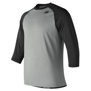 New Balance Youth 3/4 Baseball Raglan Top