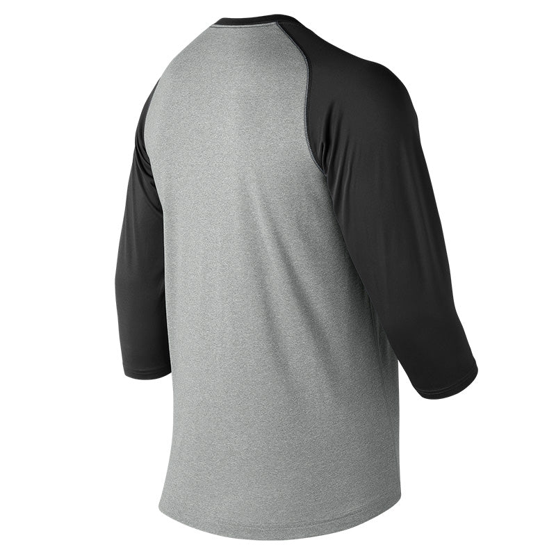 New Balance Men's 3/4 Baseball Raglan Top