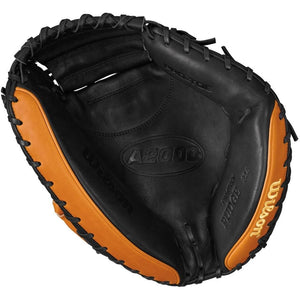 "Wilson A2000 PUDGE 32.5"" CATCHER'S MITT - RIGHT HAND THROW"