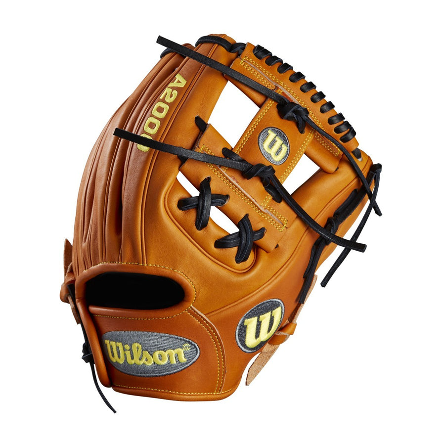 "2018 A2000 DP15 11.5"" - Brown - Wilson's Pedroia Fit™ Infield Baseball Glove 