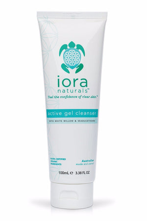 'organic skincare' active gel cleanser