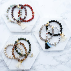 Custom Bracelet Stack - Set of 3 | Mod + Jo