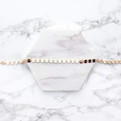 circle chain choker necklace | Mod + Jo