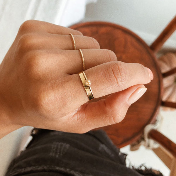 Goldie Stacking Ring