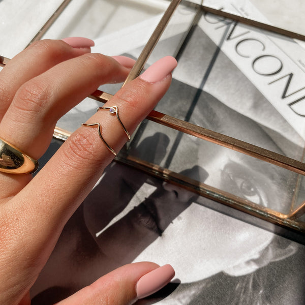Rowe Arc Stacking Ring