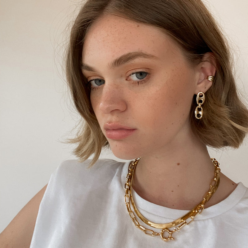 Asher Chain Earrings
