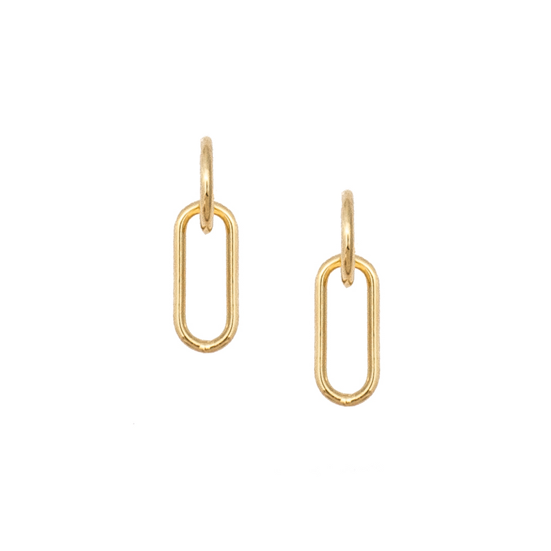 Mila Drop Earrings - Small - EARRINGS - MOD + JO