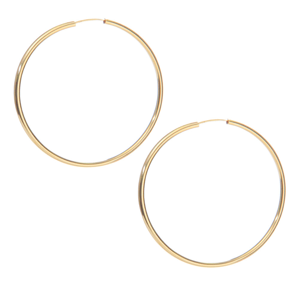 Gwen Hoops - GF - EARRINGS - MOD + JO