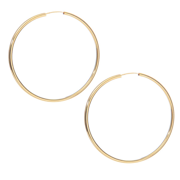 Gwen Hoops - EARRINGS - MOD + JO