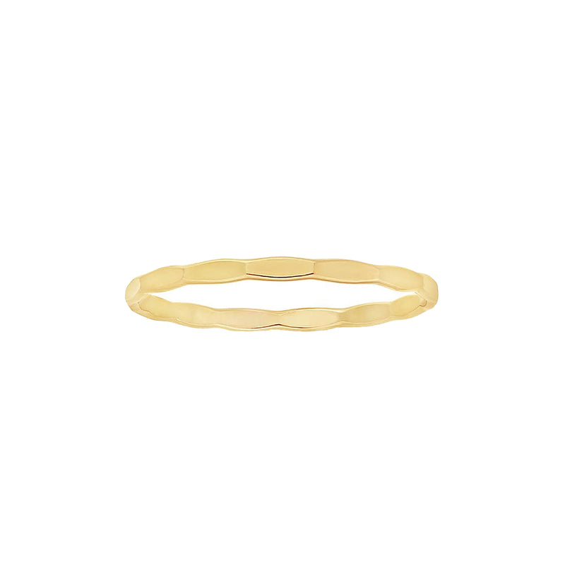Hammered Stacking Ring - Rings - MOD + JO
