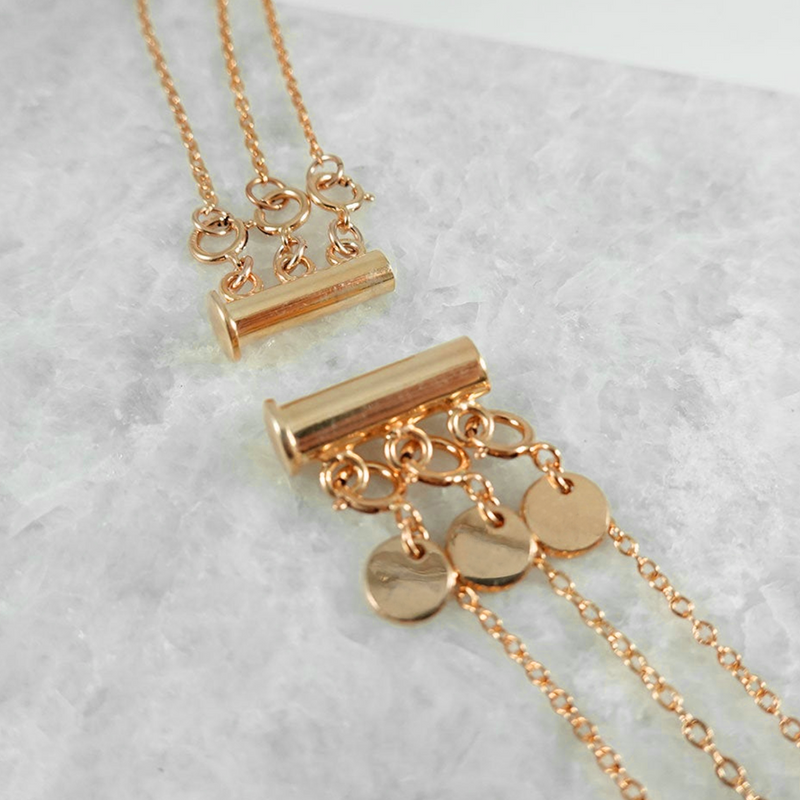 Gold Fill Necklace Separator -  - MOD + JO