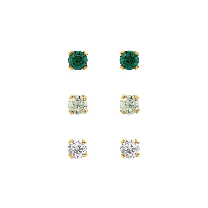 Bae Ombre Stud Set - EARRINGS - MOD + JO