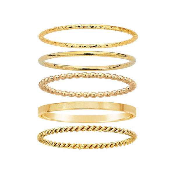 Everyday Stacking Ring Set - Rings - MOD + JO