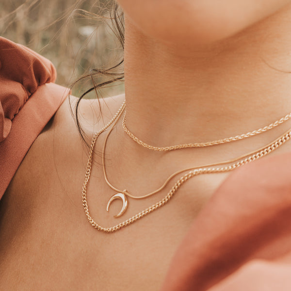 Halley Chain Necklace - NECKLACES - MOD + JO