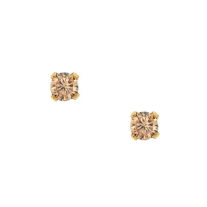 Bae Studs - Champagne - EARRINGS - MOD + JO