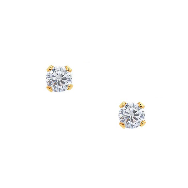 Bae Studs - Crystal - EARRINGS - MOD + JO
