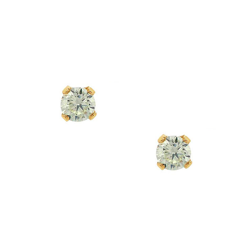 Bae Studs - Jade - EARRINGS - MOD + JO