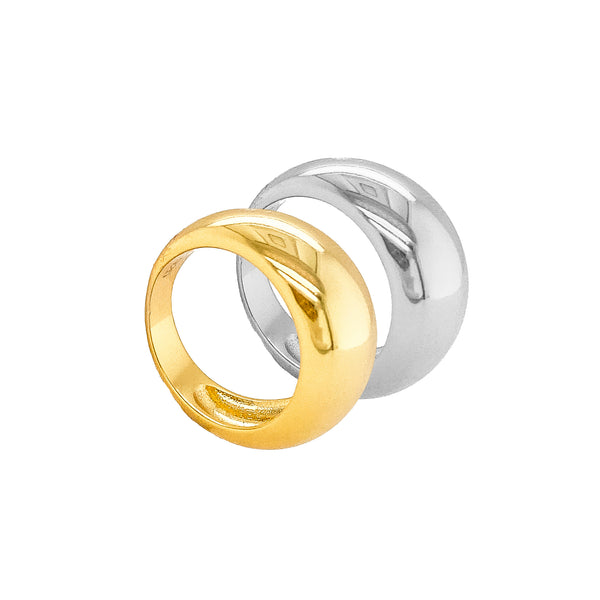 Chelsey Dome Ring Duo