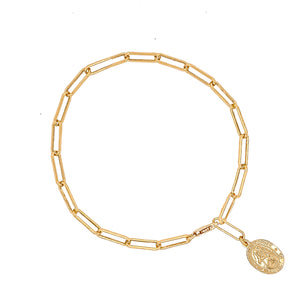 St. Christopher Chain Bracelet